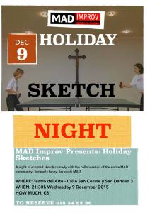 MAD IMPROV'S COMEDY SKETCH SHOW